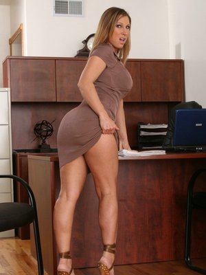 image Mature teacher with mini skirt fucked in class