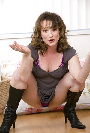 Mature Pussy In Boots